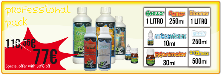 Bioaigua Professional products Pack